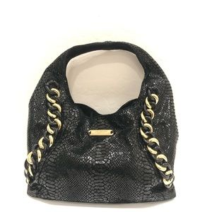 Michael Kors Python ID Chain Tote rear bag